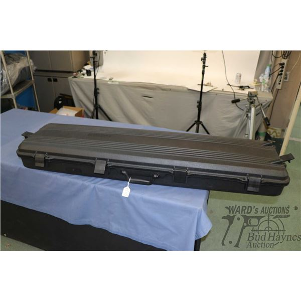 """Gun Guard hard line rifle case with uncut foam lining. 52""""x13""""x6 1/2"""" Note: Not available for shippi"""