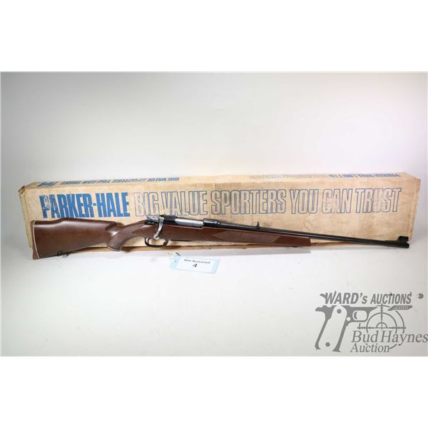 "Non-Restricted rifle Parker-Hale model Mauser Type, 30-06 bolt action, w/ bbl length 24"" [Blued barr"