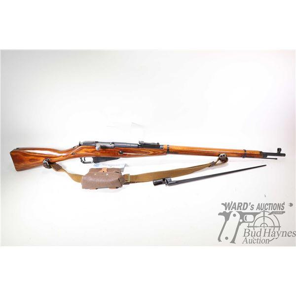 Non-Restricted rifle Mosin Nagant Izhevsk (Sov model M91/30, 7.62X54R bolt action, w/ bbl length 29