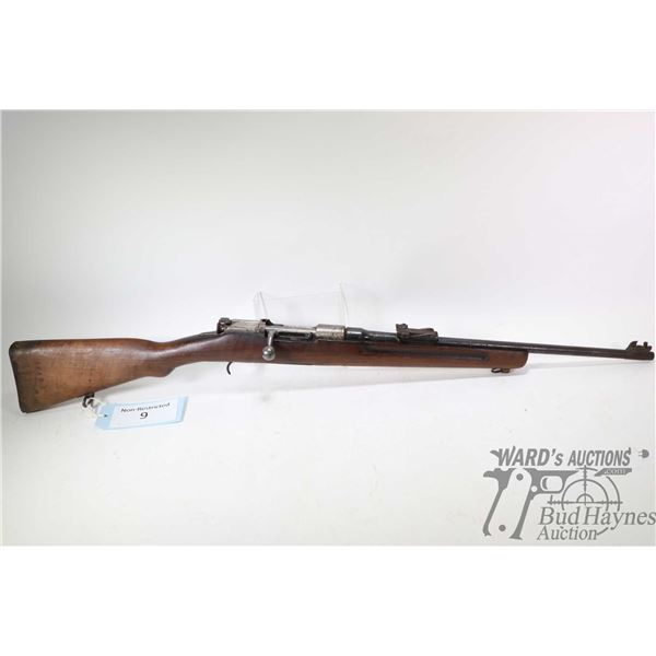 Non-Restricted rifle Mannlicher model 1930, 6.5 mmX54 Mannlicher (?) bolt action, w/ bbl length 20 1
