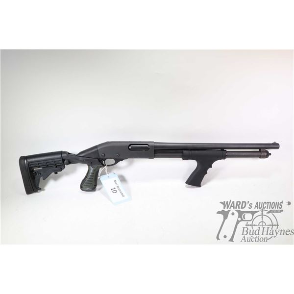 "Non-Restricted shotgun Remington model 870 Tactical, 12Ga 2 3/4"" & 3"" pump action, w/ bbl length 18"