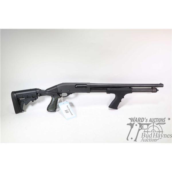Non-Restricted shotgun Remington model 870 Tactical, 12Ga 2 3/4  & 3  pump action, w/ bbl length 18