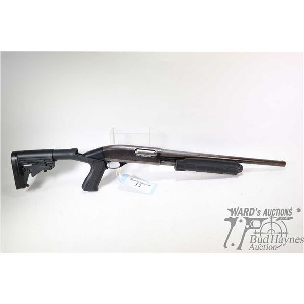 Non-Restricted shotgun Remington model Wingmaster 870, 12Ga 2 3/4  pump action, w/ bbl length 18  [B