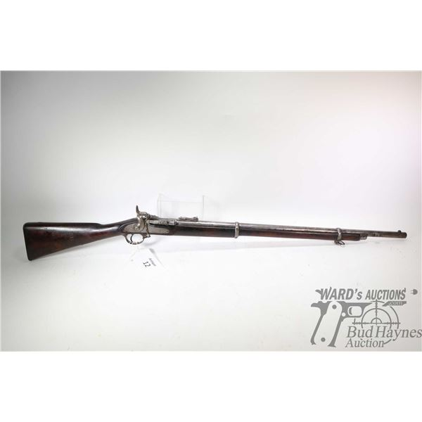 Antique lyon & lyon calcutta model Tower Rifle, .577 ? unconfirmed Single Shot breech block, w/ bbl