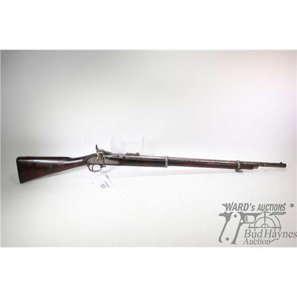 Antique lyon & lyon calcutta model Tower Rifle, .577 ? unconfirmed Single Shot breech block, w/ bbl