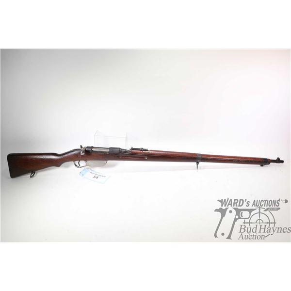 Non-Restricted rifle Styer model M.95, 8X56 R bolt action, w/ bbl length 31  [Blued barrel and recei