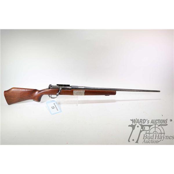 Non-Restricted rifle Mannlicher model Y1903, 6.5 mm X 54 Mannlicher(?) bolt action, w/ bbl length 23