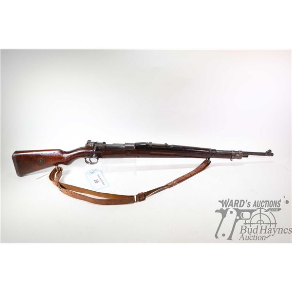 "Non-Restricted rifle Brazilian Mauser model Mod. 30 M954, 30-06 bolt action, w/ bbl length 23 1/2"" ["
