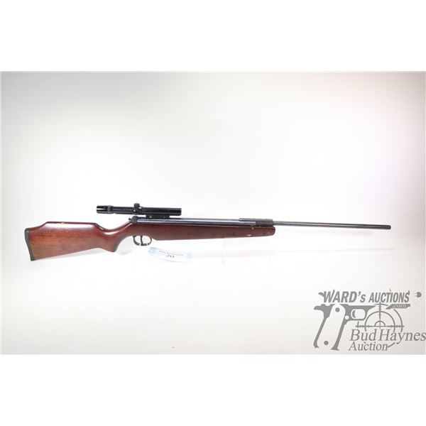 Non-Restricted air rifle Ruger model Air Hawk ( over 1000 FPS), .177 (4.5mm) Single Shot hinge break