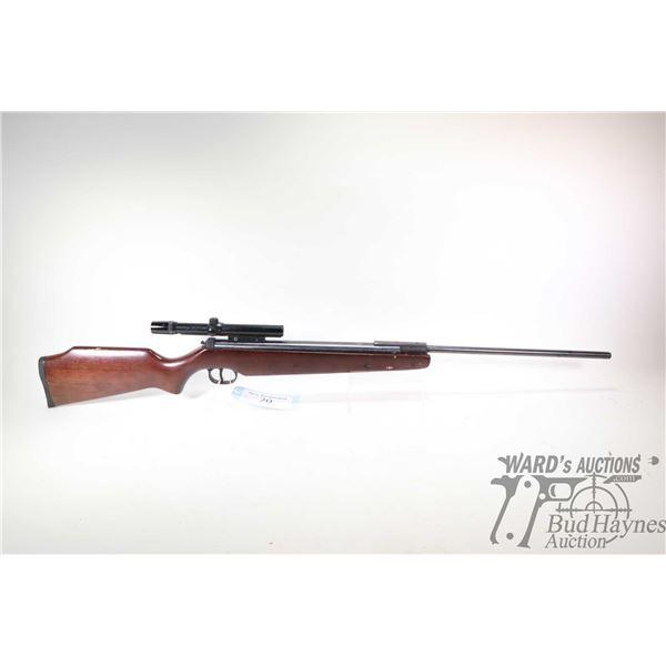 Non-Restricted air rifle Ruger model Air Hawk ( over 1000 FPS), .177 (4.5mm) Single Shot hinge break