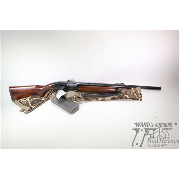 "Non-Restricted shotgun Remington model 11-87, 12Ga 2 3/4"" & 3"" semi automatic, w/ bbl length 25 1/2"""