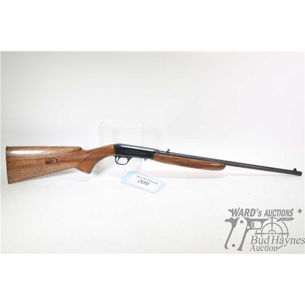 """Non-Restricted rifle Browning model SA-22 Grade 1 Take Down, 22LR semi automatic, w/ bbl length 19"""""""