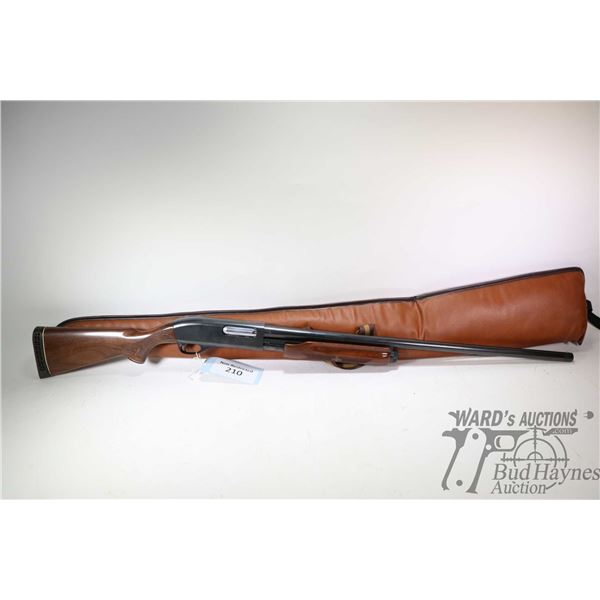"Non-Restricted shotgun Remington model Wingmaster 870, 12Ga 2 3/4"" pump action, w/ bbl length 28"" [B"