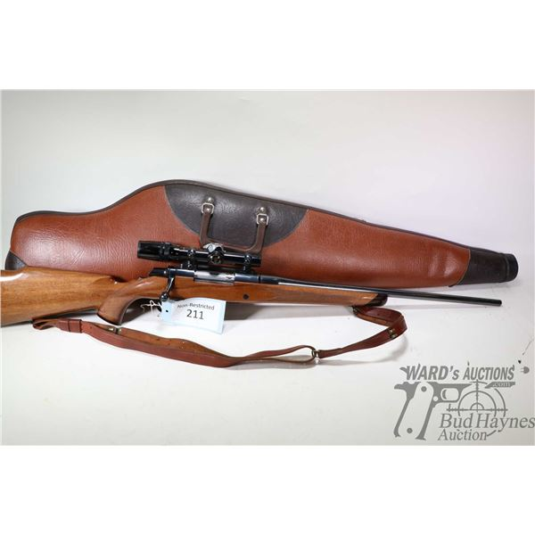 """Non-Restricted rifle Browning model BBR, 30-06 bolt action, w/ bbl length 22"""" [Blued barrel and rece"""