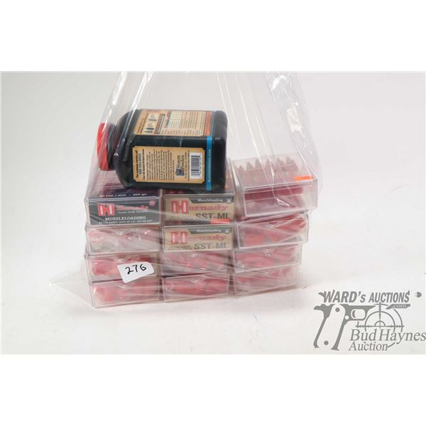 Eleven 20 count  boxes of Hornady SST Low Drag Sabot, 50 cal. 250 grain, muzzle loading projectiles