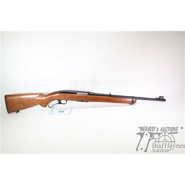 """Non-Restricted rifle Winchester model 88 carbine, .308 Win lever action, w/ bbl length 18 1/2"""" [Blue"""