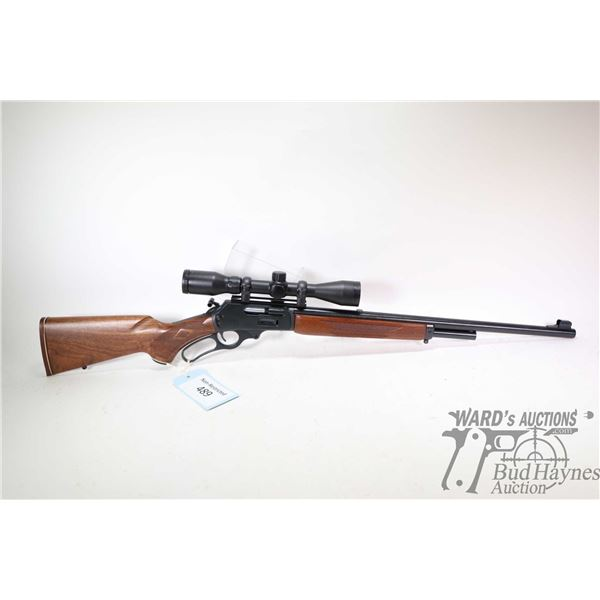 """Non-Restricted rifle Marlin model 1895 SS, 45/70 Gov't lever action, w/ bbl length 22"""" [Blued barrel"""