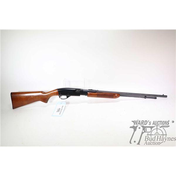 "Non-Restricted rifle Remington model Fieldmaster 572, 22 S-L-LR pump action, w/ bbl length 23 1/2"" ["