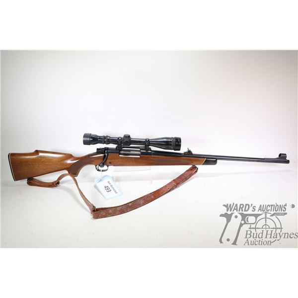"""Non-Restricted rifle Winchester model 70, .30-06 bolt action, w/ bbl length 22"""" [Blued barrel and re"""
