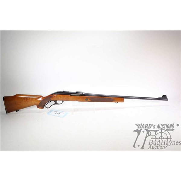 """Non-Restricted rifle Sako model VL63 Finnwolf, .243 cal lever action, w/ bbl length 23"""" [Blued barre"""