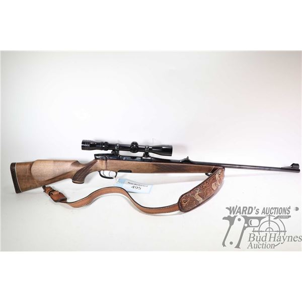 "Non-Restricted rifle Styer model Mannlicher, .30-06 SPRG. bolt action, w/ bbl length 23 1/2"" [High g"