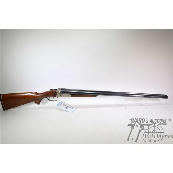 "Non-Restricted shotgun ADAMAC model 68 SXS, 12Ga 2 3/4"" two shot hinge break, w/ bbl length 28"" [Blu"