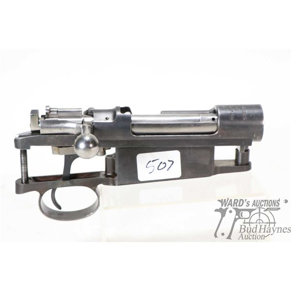 Mauser M96 action with trigger group, working well after what appears to be professional restoration