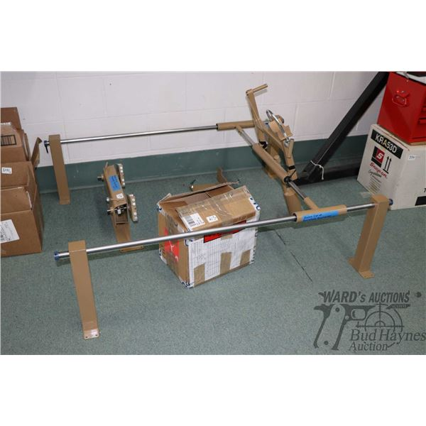 Radar Carve gun stock duplicator with selection of accessories and operating manual