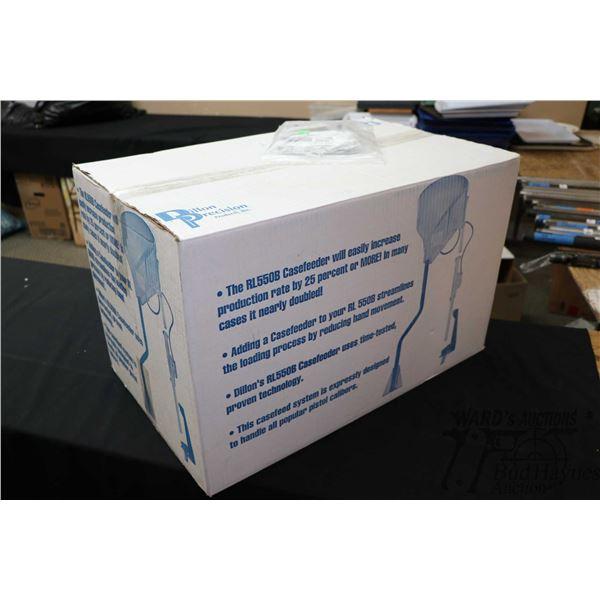 Dillon RL 550 B case feeder no. 20444 and tool holder