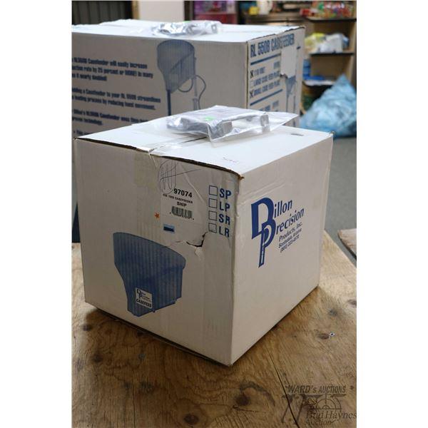 Dillon 650/1050 case feeder no. 97074 and a Dillon tool holder