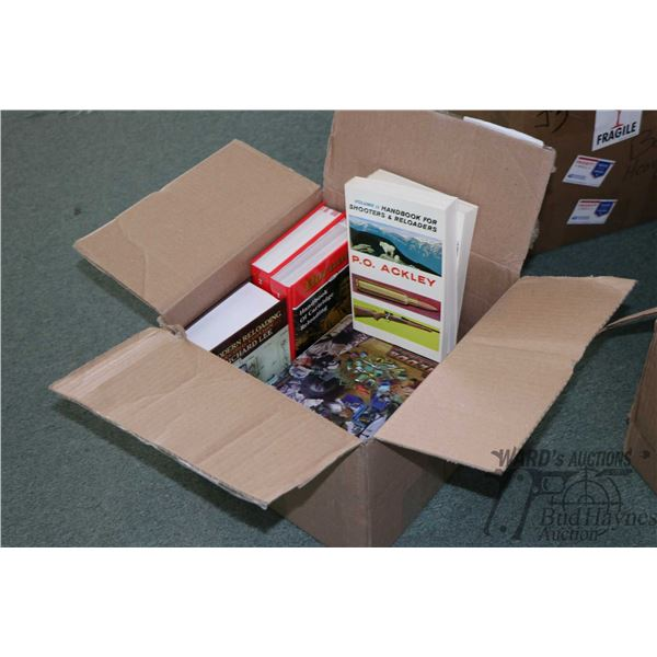 Box of reloading manuals