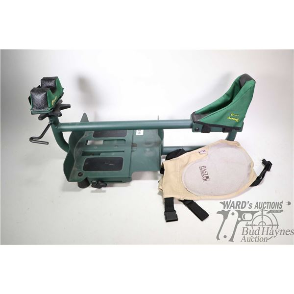 Caldwell lead sled  and a Past Recoil protection pad