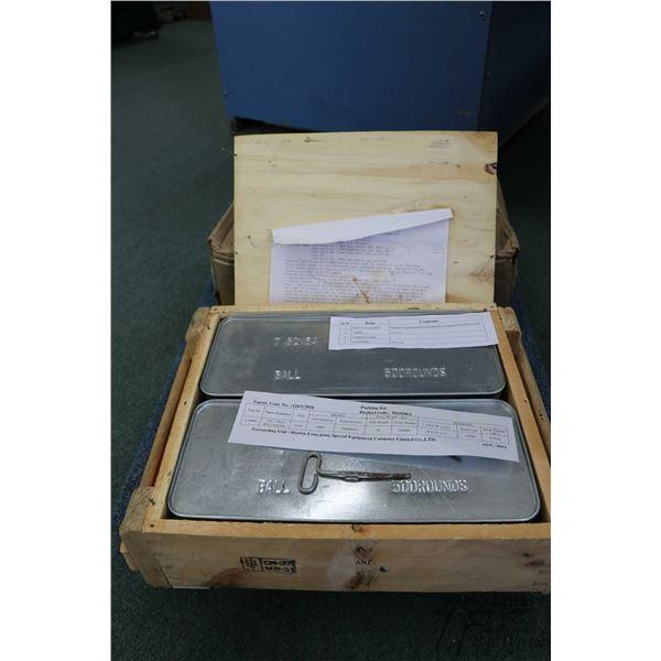Full 1000 round case of Norinco 7.62X54R ammunition,  2011 production