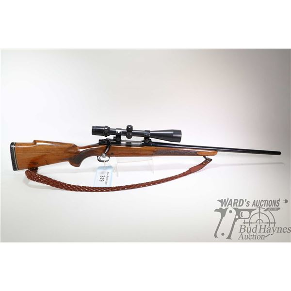 """Non-Restricted rifle Winchester model 70, .270 Win bolt action, w/ bbl length 22"""" [Blued barrel and"""