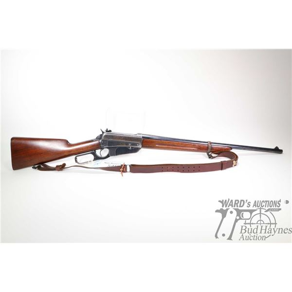 """Non-Restricted rifle Winchester model 95, .30 Gov't -06 lever action, w/ bbl length 22"""" [Blued barre"""
