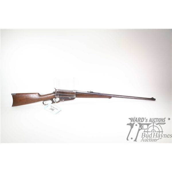 """Non-Restricted rifle Winchester model 95, 405 WCF lever action, w/ bbl length 24"""" [Blued round barre"""