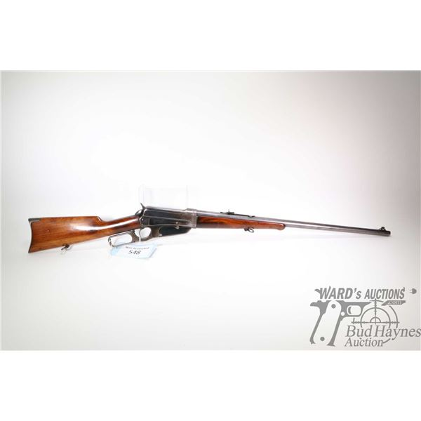 """Non-Restricted rifle Winchester model 95 Take Down, .35 WCF lever action, w/ bbl length 24"""" [Blued b"""