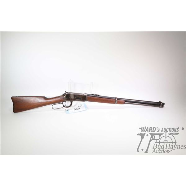 Non-Restricted rifle Winchester model 1894 Saddle Ring Carbine, 308-55 lever action, w/ bbl length 2