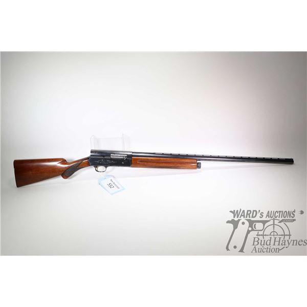 "Non-Restricted shotgun Browning model Auto -5 Light 12, 12 ga. 2 3/4"" semi automatic, w/ bbl length"