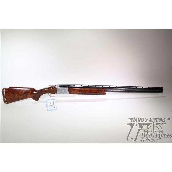 """Non-Restricted shotgun Browning model Citori, 12 ga. 2 3/4"""" two shot hinge break, w/ bbl length 32"""""""