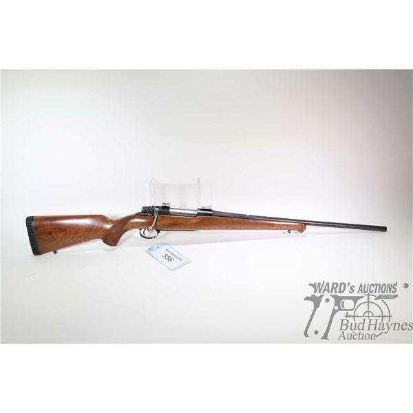 """Non-Restricted rifle Husqvarna 30-06 bolt action, w/ bbl length 21"""" [Blued barrel and receiver. No f"""