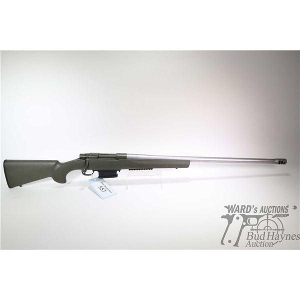 """Non-Restricted rifle Howa model 1500, .223 Rem bolt action, w/ bbl length 26 1/2"""" [Stainless K&S bar"""