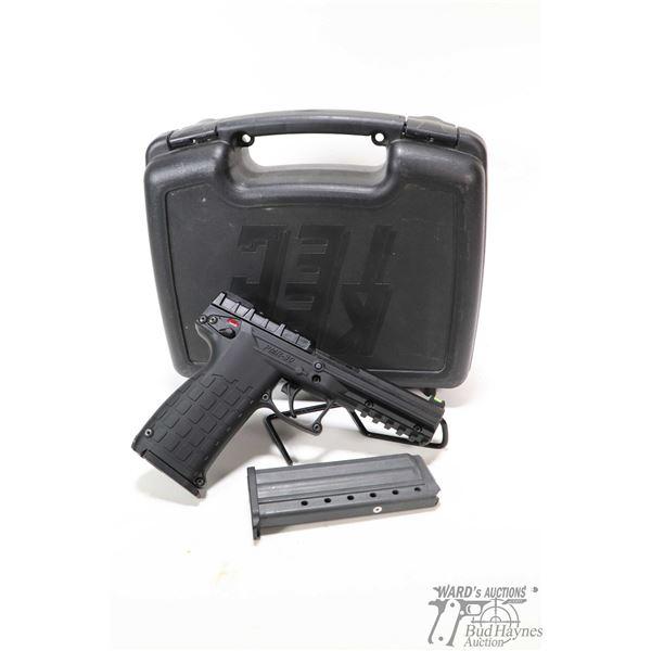 Restricted handgun Kel-Tec model PMR-30, .22 WMR ten shots semi automatic, w/ bbl length 110mm [Blac