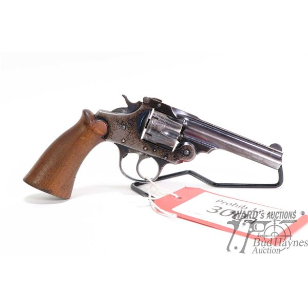 Prohib 12-6 handgun Iver Johnsons model Safety Hammer Mdl. 2, .32 six shot double action revolver, w