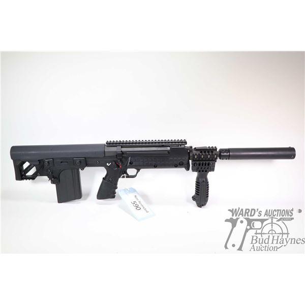 "Non-Restricted rifle Kel-Tec model RFB, .308 Win five shot semi automatic, w/ bbl length 18"" [Black"