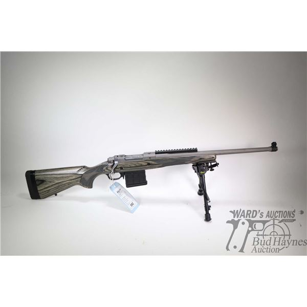 """Non-Restricted rifle Ruger model Gunsight Scout, .308 Win bolt action, w/ bbl length 18 3/4"""" [Satin"""