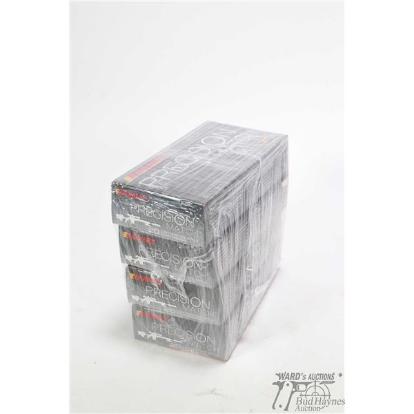 Four 20 count boxes of Barnes Precision Match 260 Remington 140 grain OTM BT