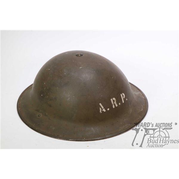 WWI Air Raid Precautionary helmet