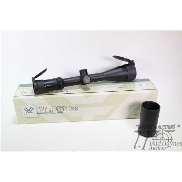Vortex 4-16X50 Viper scope with Dead-Hold BDC (MOA) Reticle, includes original box S/N A17013873