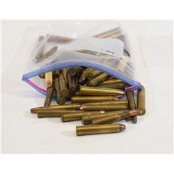 Mixed Lot of Rimmed Rifle Cartridges